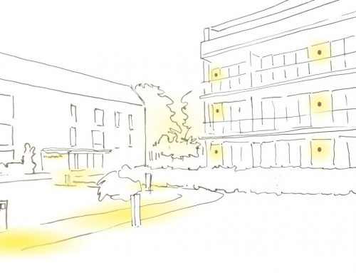 Planung für das Quartierzentrum Rousseaupark